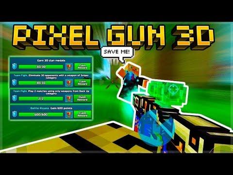 Pixel Gun 3D | Grinding Challenges To Unlock FREE Battle Pass Season!