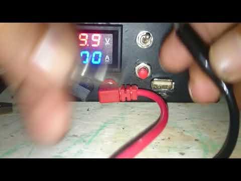 MBR 12 amper menpunyai 2 input penghancur hp dan leptop yg short