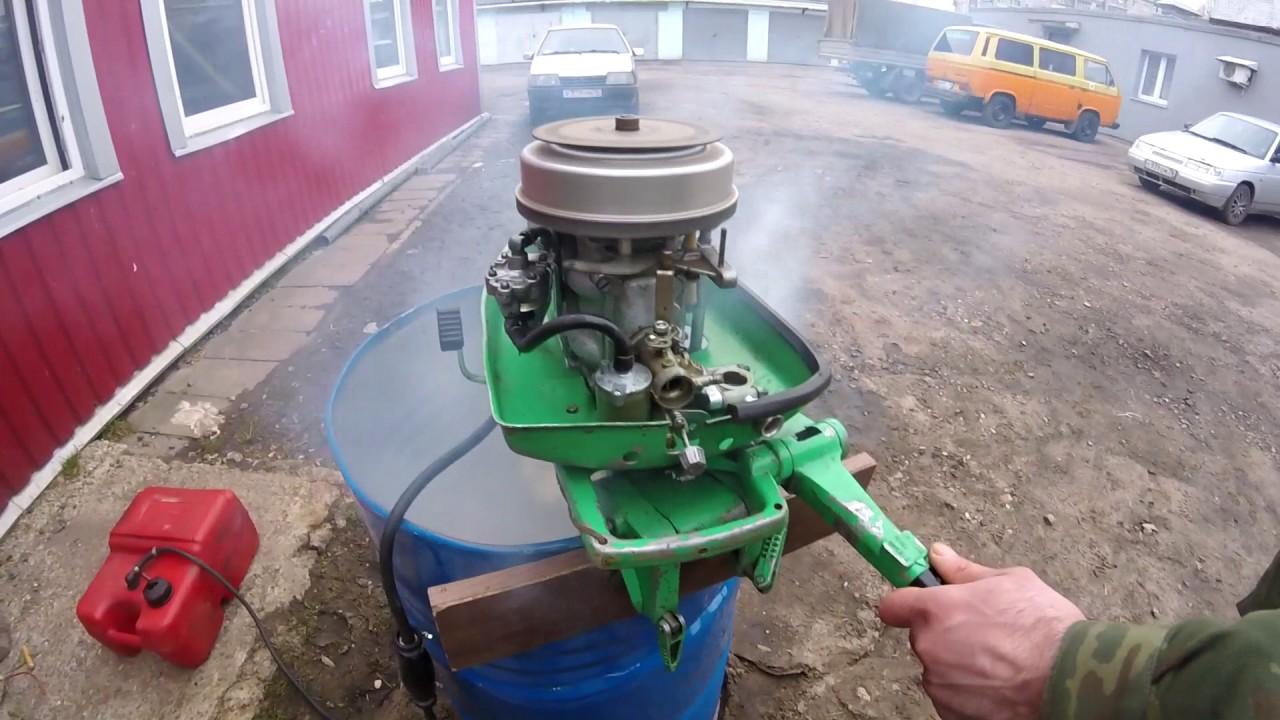 лодочный ветерок замена двигателя