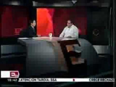 15FEB14 ENTREVISTA , DELEGADO JOSÉ MANUEL BALLESTEROS LOPEZ, CON EXCELSIOR TV.