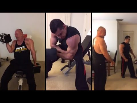 Full Shoulders and Arms Bodybuilding Workout With US Marine Pete Taylor
