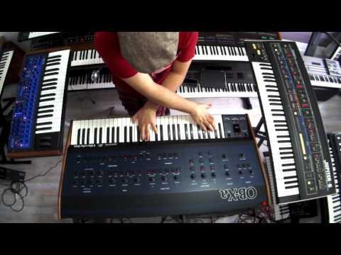 OBERHEIM OB-XA , JUPITER 6 , MUSIC VINTAGE PLANET