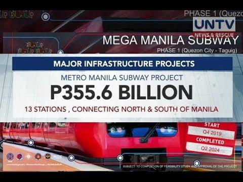DOTr eyes Feb  27 launch of Metro Manila subway - UNTV News