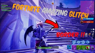 AMAZING FORTNITE GLITCH !!! [how to go across the border]