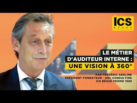 Le métier d'auditeur interne : une vision à 360° - Par Frédéric Adeline (ICS Bégué promo 1989)