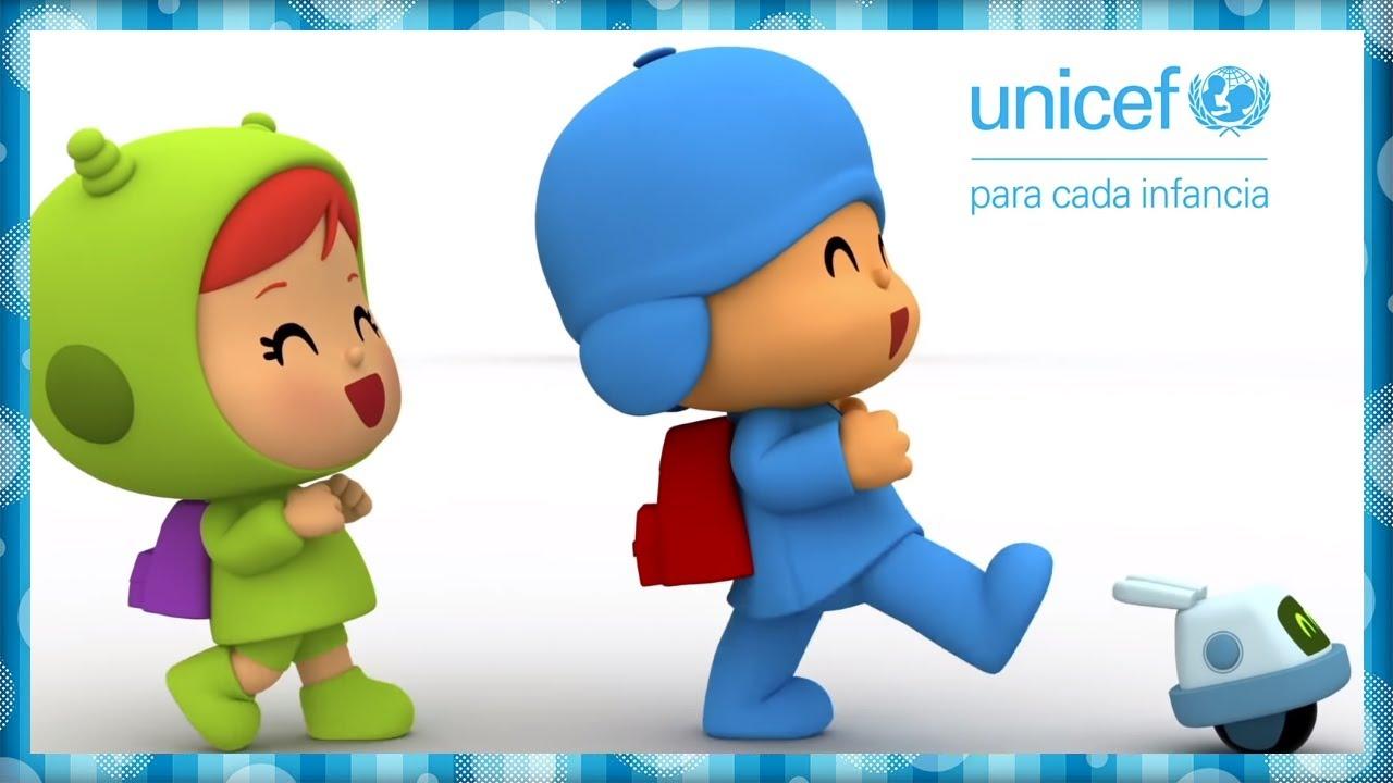 🎓😊 CANCIONES INFANTILES de POCOYÓ - El Cole es Divertido | Caricaturas y dibujos animados | UNICEF