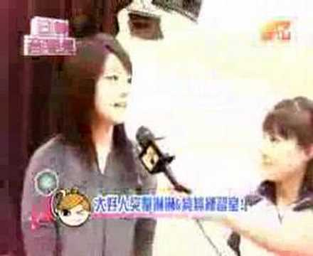 Junjun and Linlin on MTV Taiwan