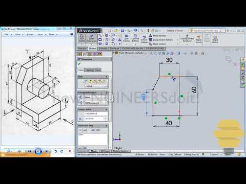 solidworks-beginners exercise-17 practice-session