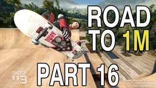 Road to 1M - Skate 3 [Part 16] Jumping over a shark?!