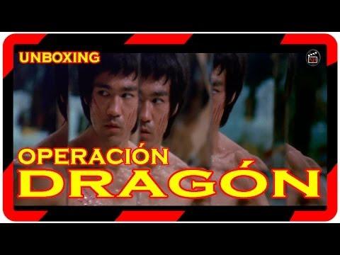 Pelicula: unboxing Operacion dragon (2014) II Unboxing 40 aniversario blu ray Operacion dragon