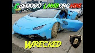 Download copart walk around £250000 Lamborghini destroyed Mp3 and Videos