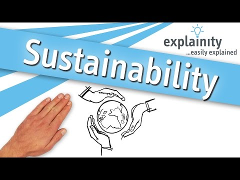 Sustainability explained (explainity® explainer video)