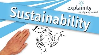 Sustainability easily explained (explainity® explainer video)
