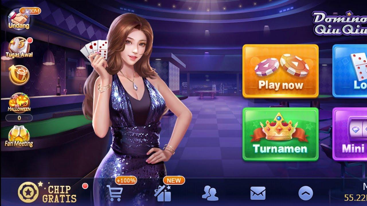 gambar game android domino qiuqiu Game Domino Menghasilkan Pulsa Dan Uang
