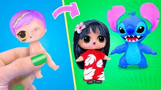 Never Too Old for Dolls! 9 Lilo & Stitch LOL Surprise DIYs