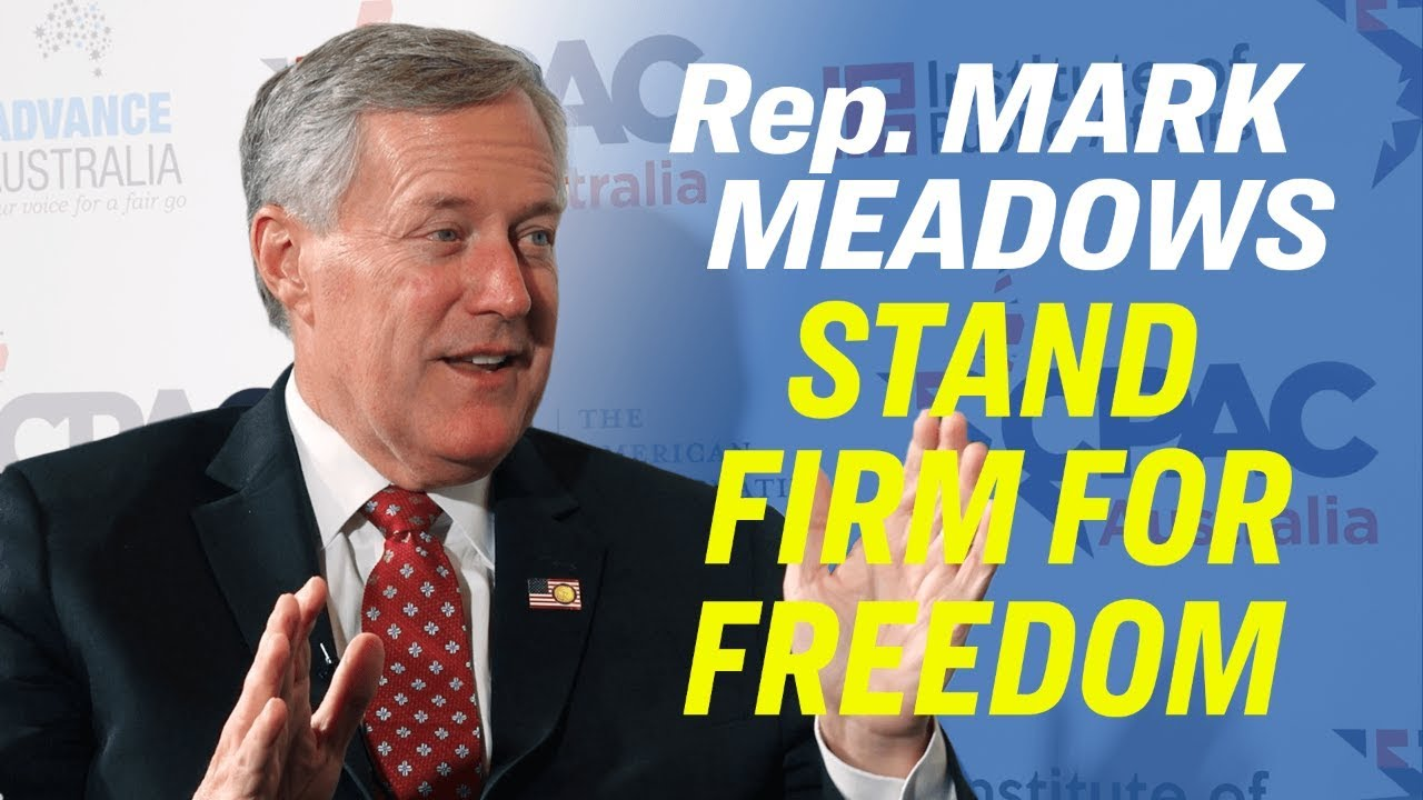 Epoch Times Freedom Is Vital to Prosperity—Rep. Mark Meadows on Hong Kong Protest & Censorship [
