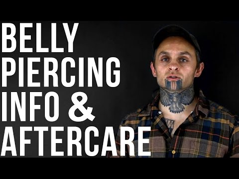 Navel / Belly Button Piercing Info & Aftercare | UrbanBodyJewelry.com