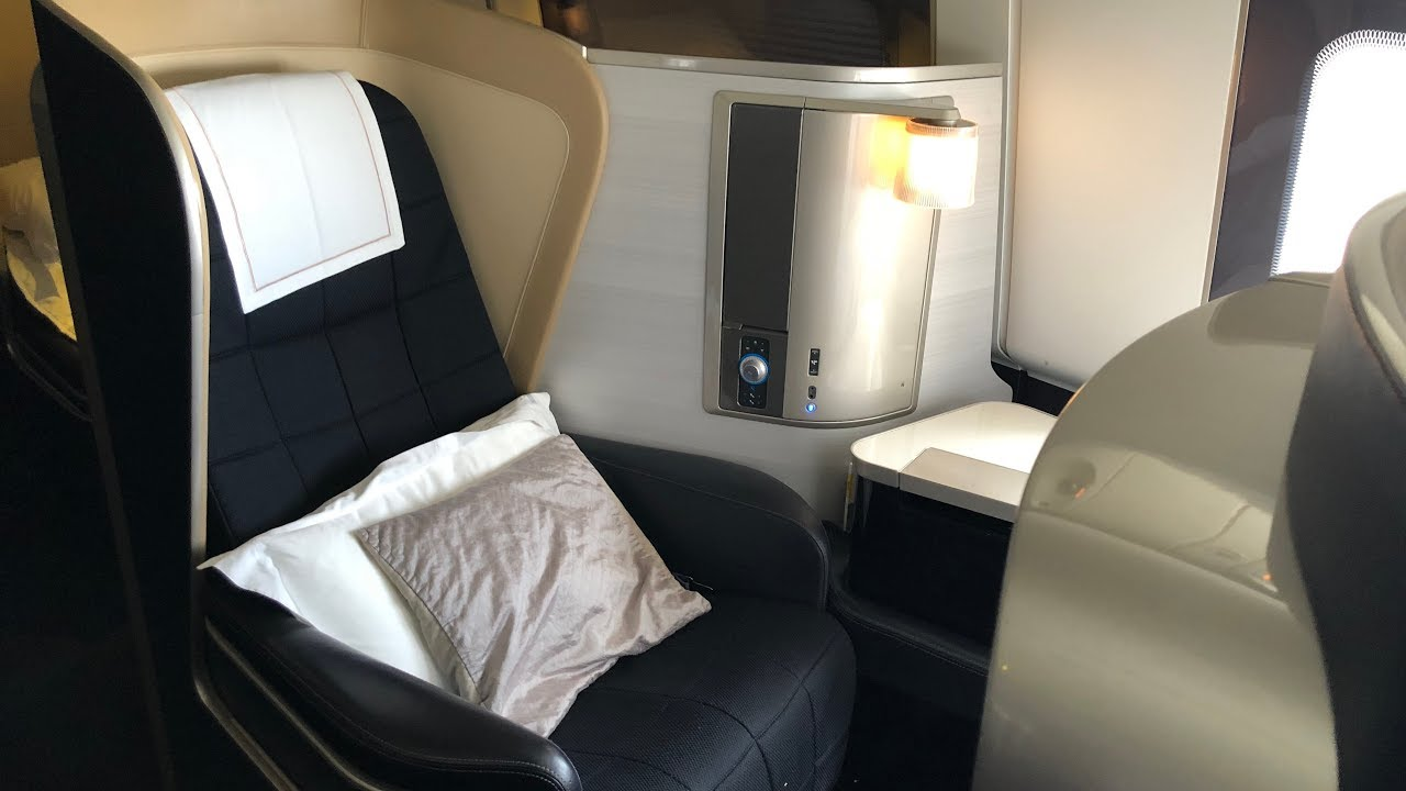 British Airways 777-200 First Class Seat Review | Aviation ...