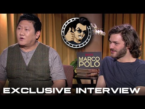 Lorenzo Richelmy and Benedict Wong   Netflix's Marco Polo HD 2014