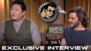 Lorenzo Richelmy and Benedict Wong Interview - Netflix's Marco Polo (HD) 2014