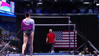 Sarah Finnegan - Bars - 2012 Visa Championships - Sr. Women - Day 2