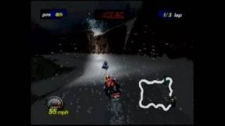 Polaris SnoCross Nintendo 64 Gameplay