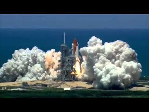 Space Shuttle Launch 1080p HD NASA TV
