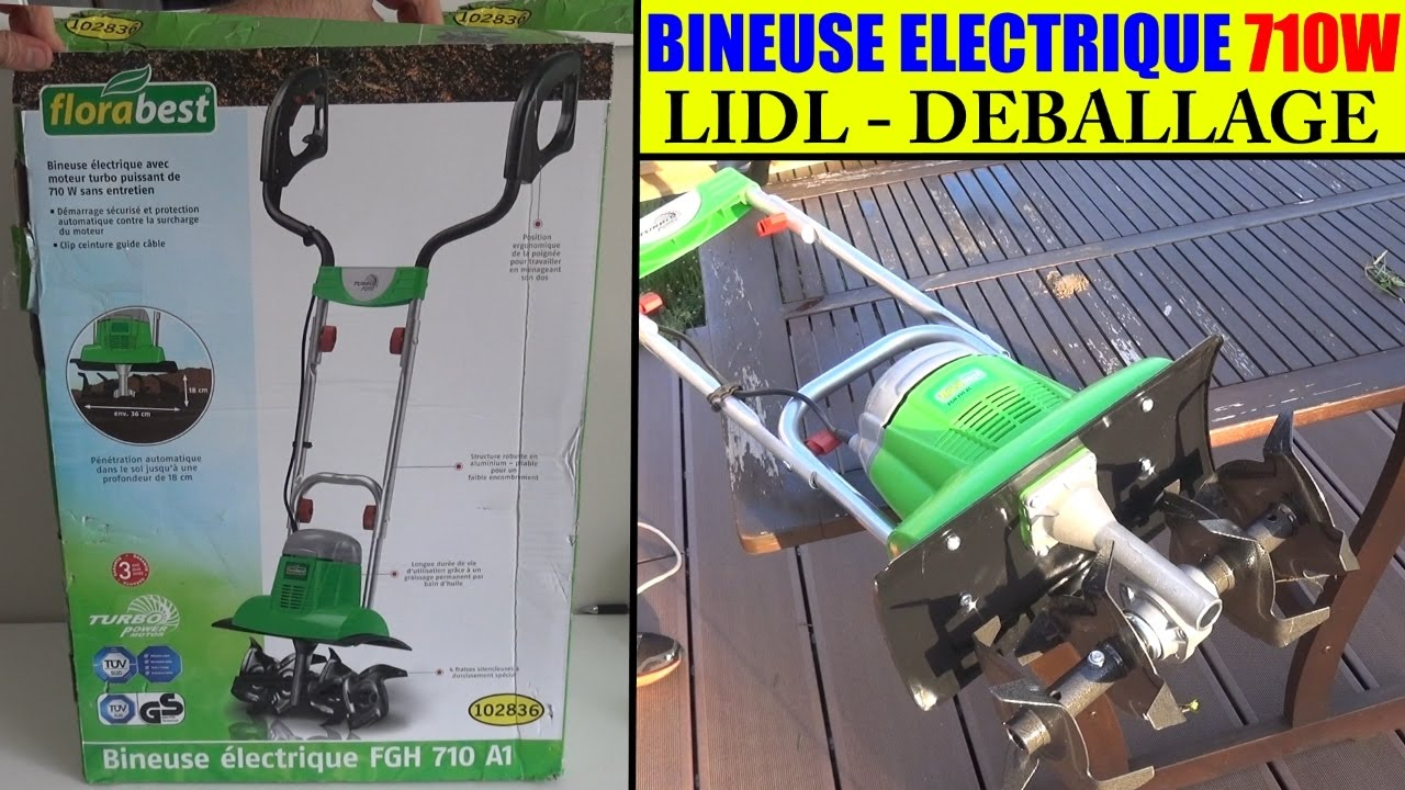 bineuse electrique florabest lidl fgh 710w garden cultivator gartenkultivator youtube. Black Bedroom Furniture Sets. Home Design Ideas