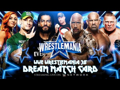 Download WWE Wrestlemania 38 Dream Match Card I 2K Subscribers Special