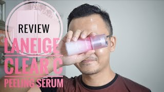 Gambar cover Review : Laneige Clear C Peeling Serum