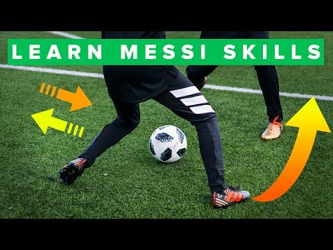 TOP 5 MESSI FOOTBALL SKILLS