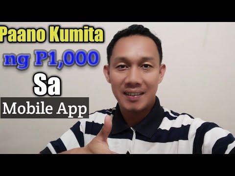 paano-kumita-ng-pera-p1000-sa-mobile-app
