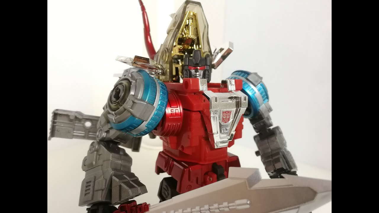 New Transformers G-Creation Shuraking SRK 05 HAMMER Red Slag Figure In Stock