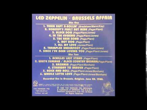 Led Zeppelin Brussels Affair 12 Kashmir