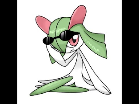 how to color kirlia pokeomon with the new skills in dibujando - YouTube