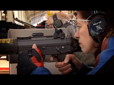 Switzerland's shrinking small arms industry
