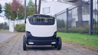 Hermes & Starship | Robot delivery trials in Hamburg + London