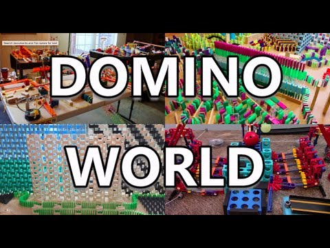 DOMINO WORLD 2018: Official Event Trailer (25,000 Dominoes)