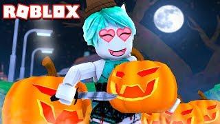HACIENDO CALABAZAS DE HALLOWEEN en ROBLOX Pumpkin Carving Simulator