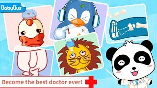 Baby Pandas Hospital Fun Learning kids games about Curing & Caring - children games