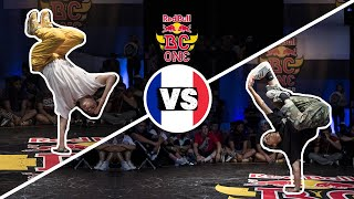 Red Bull BC One Cypher France 2018 | B-Girl Final:  Kami vs. San Andrea
