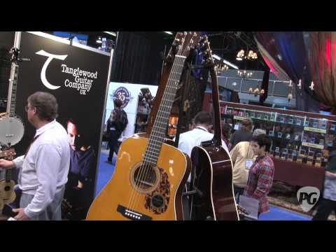 NAMM '11 - Tanglewood Guitars Sundance Historic Series