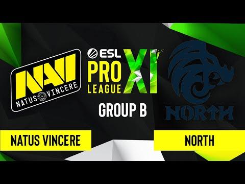 CS:GO - Natus Vincere Vs. North [Nuke] Map 1 - ESL Pro League Season 11 - Group B
