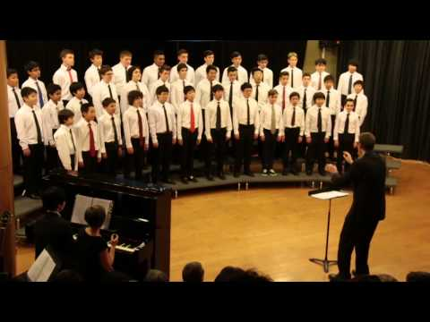 Amani (Peace) - Audrey Snyder, AMIS MS Boys' Choir 2015