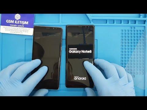 Samsung Galaxy Note 8 Ekran Değişimi