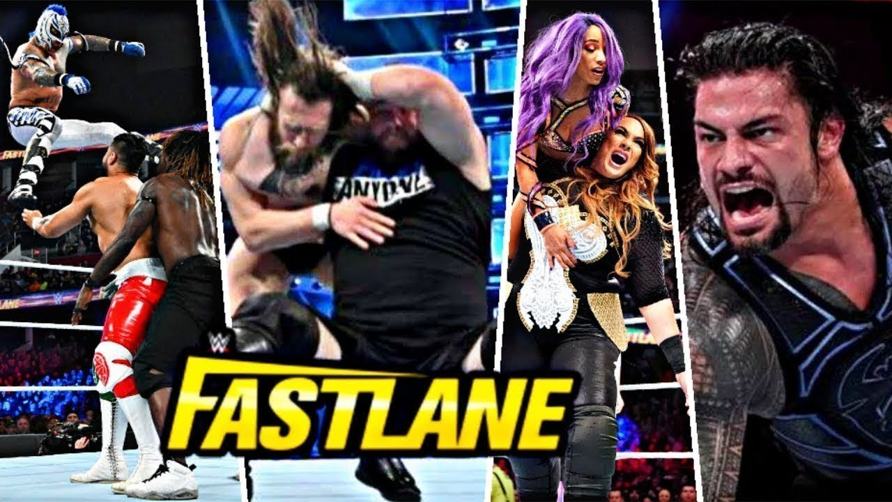 Download WWE Fastlane 10th March 2019 Full Highlights HD - WWE Fastlane 10/3/2019 Highlights HD