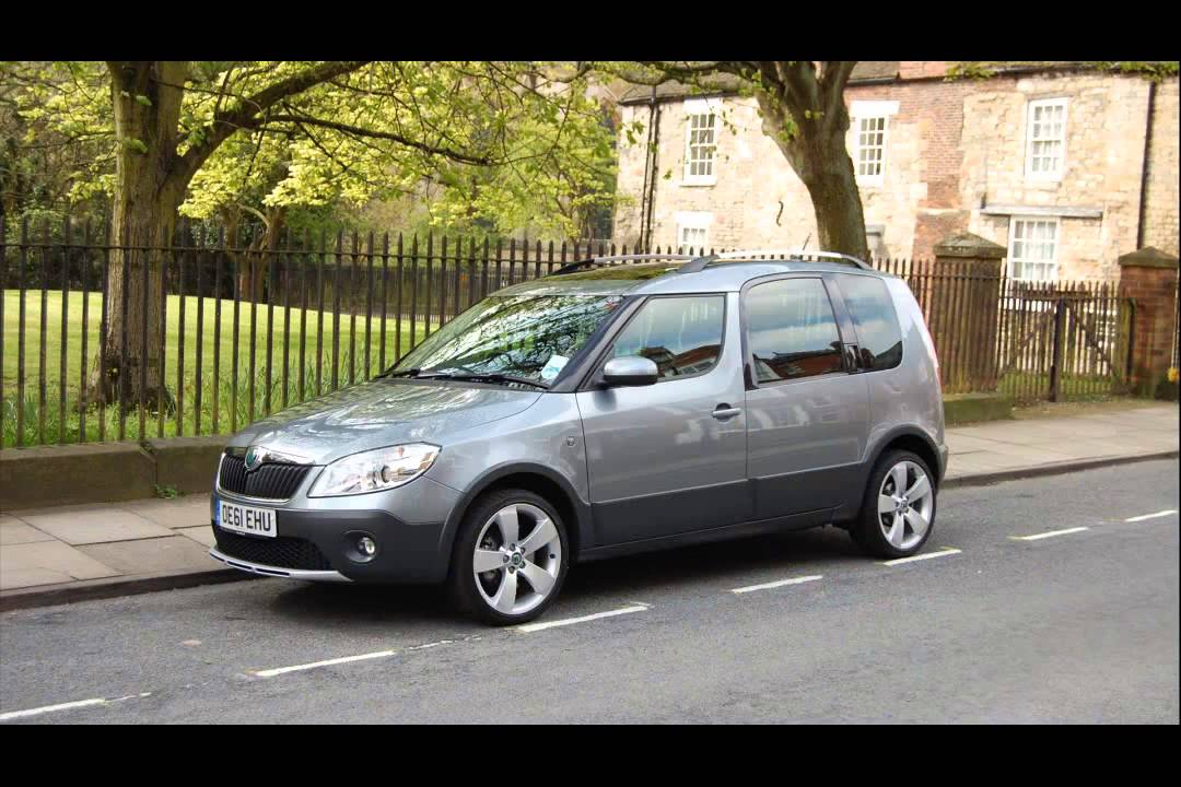 2011 Skoda Roomster Scout Youtube