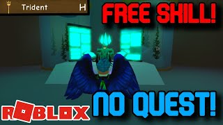 HOW TO GET THE TRIDENT SKILL WITHOUT DOING THE QUEST! Roblox Power Simulator (Glitch)