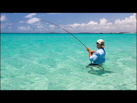 Fly Fishing For Barramundi, Grouper, Jacks & Trevally On Remote Australian Islands And Beaches - FTW