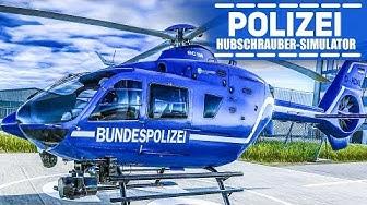 POLIZEIHUBSCHRAUBER Simulator #1: Demonstration überwachen im Polizei-Helikopter!
